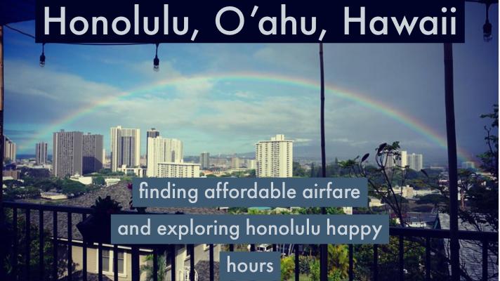 Honolulu Happy Hours