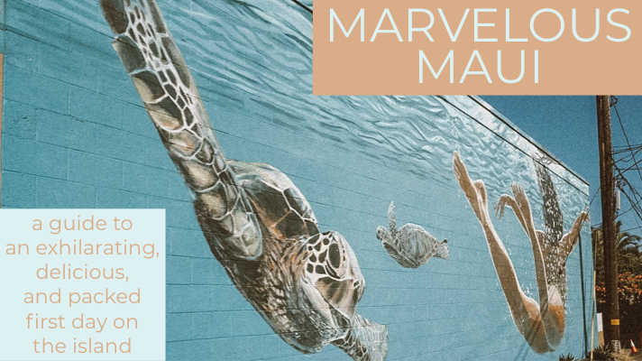 Marvelous Maui: Eating Our Way Through our FirstDay