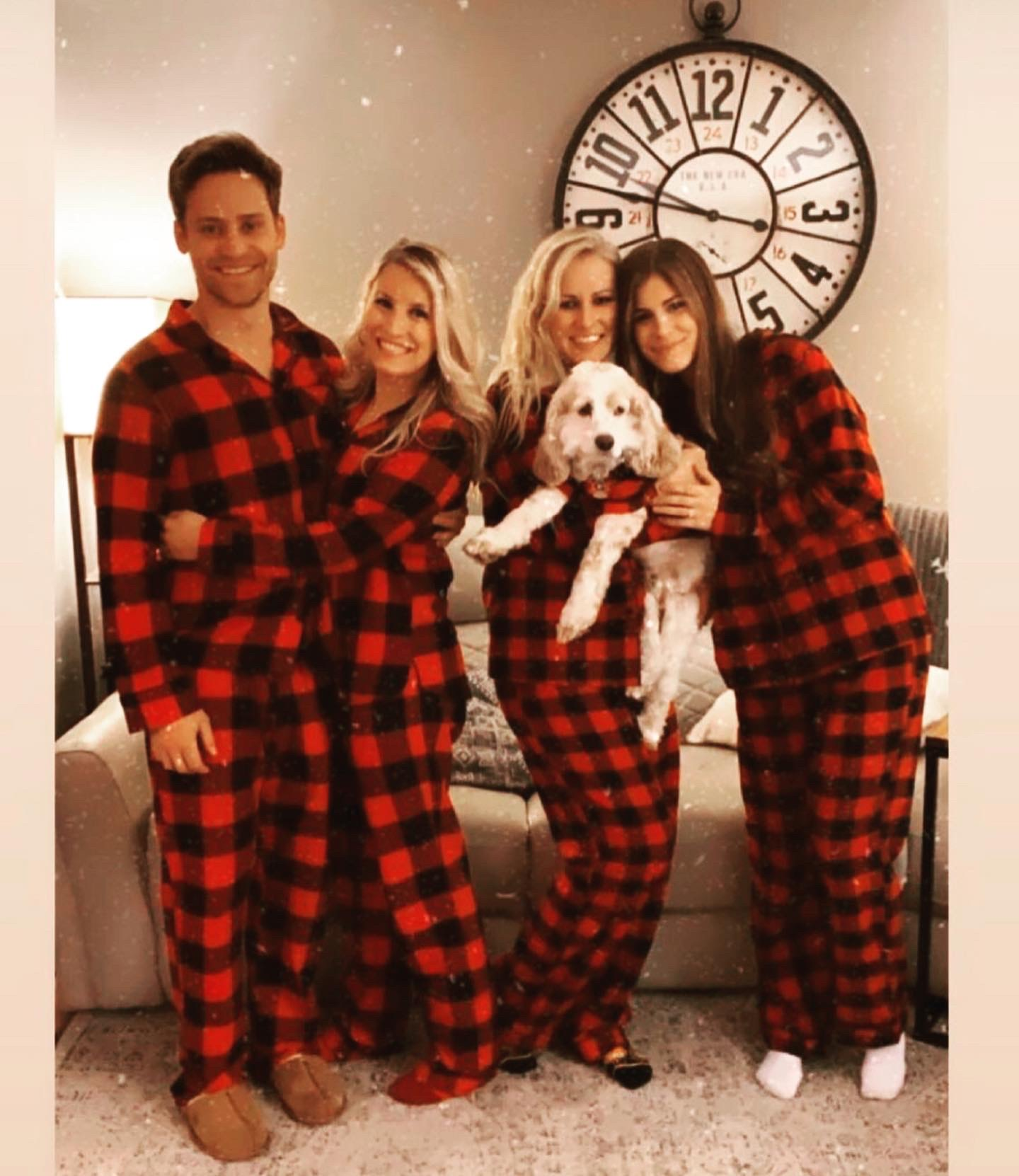 Loving our buffalo plaid jams.